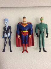 2009 DC Universe JLU Livewire Superman Weather Wizard Action Figures 3 Pack
