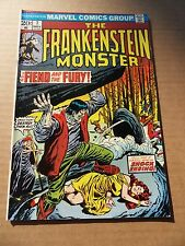 Frankenstein 7  . Dracula cameo - Marvel  1973 -    VF