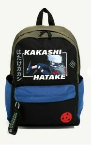 Naruto Shippuden Kakashi Hatake BackpackBag Sharingan Anime Manga NEW