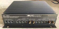 Rebuilt Old School Soundstream MC140X 4 Channel Amplifier,RARE,USA,vintage,SQ