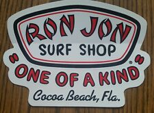 Ron Jon Surf Shop Souvenir Sticker One Of A Kind Cocoa Beach Florida Collectible