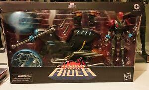 Marvel Legends Comic Ghost Rider figure and bike