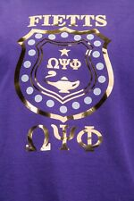Omega Psi Phi Shield Design Tshirt