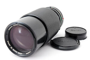 【AS IS】 Canon New FD 70-210mm f/4 Zoom NFD Manual Focus MF Lens From Japan #0856