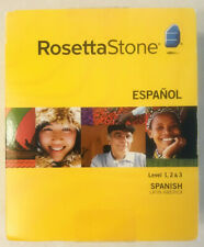Rosetta Stone Latin America Spanish Full Course Version 3 - No Headset