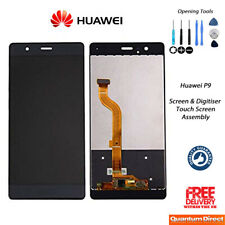 NEW Huawei P9 Replacement LCD Touch Screen Digitiser Assembly w/Tools - BLACK
