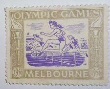 1956 OLYMPIC GAMES MELBOURNE AUSTRALIA ORIGINAL Australia Stamp No2 VERY RARE!!!