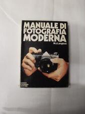 LANGFORD - MANUALE DI FOTOGRAFIA MODERNA - CIESPO CIAPANNA EDITORE