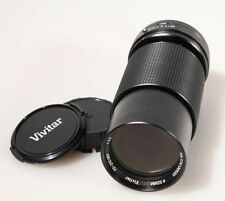 70-210 MM LENS CANON FD MOUNT W/FRONT AND REAR CAPS