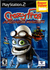 Crazy Frog Arcade Racer Game For PS2 Playstation 2 NEW Sealed Black Label