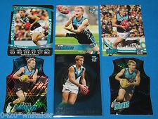 2011 AFL Select Infinity Best & Fairest #BF11 Kane Cornes + Extras inc Die cuts