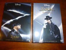 Walt Disney Zorro Complete Seasons 1 & 2 DVD Region 2 Europe English 12 Discs
