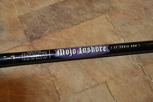 NEARLY NEW ST CROIX MOJO INSHORE SPINNING ROD MIS76HF