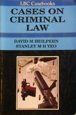 Cases On Criminal Law by Heilpern David M Yeo Stanley M. H - Book - Soft Cover