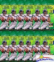 (12) 2018 Panini Absolute Football Factory Sealed JUMBO FAT PACKS-240 Cards!