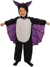 TODDLER BAT FANCY DRESS HALLOWEEN PARTY KIDS WORLD BOOK DAY WEEK COSTUME 2-4