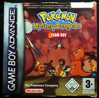 Pokémon Mystery Dungeon: Team Rot (Nintendo Game Boy Advance, 2006) Pokemon rote