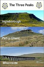 YORKSHIRE FRIDGE MAGNET - THE THREE PEAKS