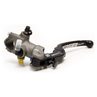 ACCOSSATO 19 X 18 BRAKE RADIAL MASTER CYLINDER WITH FOLDING LEVER FORGED