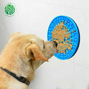 Dog Lick Mat Distraction Groom Bath Slow Eat Mat FURZON BRAND SILICONE MATERIAL.