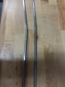 1970 Plymouth Barracuda Front Grille Trim Molding Stainless Steel O.E M.