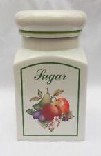 Johnson Brothers Fresh Fruit Sugar Storage Jar and Lid