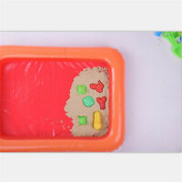 Inflatable Sand Tray Plastic Table Children Kids Indoor Playing Sand Clay Toy FT