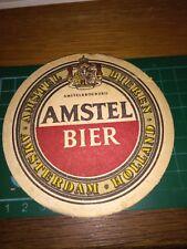 sottobicchiere beer mats birra bierdeckEL  AMSTEL BIER