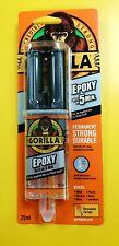 Gorilla Glue 5 Min 2 Part Epoxy Syringe 25ml