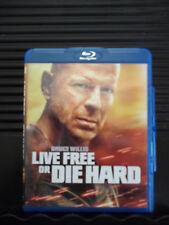 Die Hard 4: Live Free or Die Hard (Blu-ray) Bruce Willis Like New