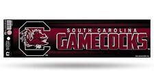 South Carolina Gamecocks Glitter Bumper Sticker [NEW] NCAA Auto Car Truck Decal
