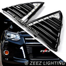 Exact Fit High Power 6-LED Daytime Running Light DRL Fog Lamp Ford Focus 11-14