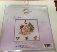 Forever Friends Frc84 Under The Mistletoe Christmas Cross Stitch Kit