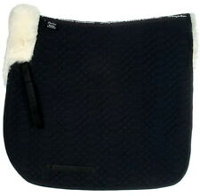 Stephens Luxury Sheepskin Lined Lambskin DRESSAGE Straight Square SaddleCloth