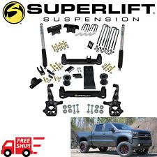SUPERLIFT 6 Inch Lift Kit + Bilstein Shocks 2019-2020 Silverado Sierra 1500 4WD