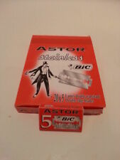 BIC Astor Stainless Double Edge Razor Blades (20 boxes per 5 razors inside)