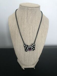 Mawi London Disney Couture Minnie Mouse Bow Necklace