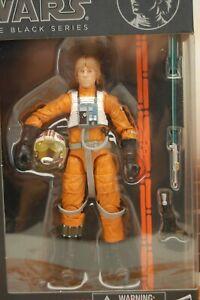 "Hasbro STAR WARS Black Series 6"" #01 X-Wing Pilot Luke Skywalker - Orange Line"