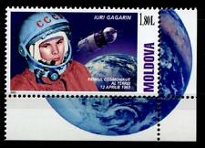 Kosmonaut Jurij Gagarin. 1W. Eckrand (2). Moldawien 2001