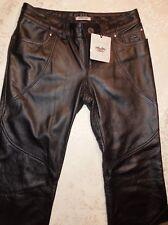 ~!Women's GORGEOUS Genuine HARLEY DAVIDSON Leather Pants,Jeans,Jacket. Size 14~