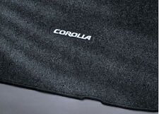 Toyota Corolla 2003 - 2008 With Underseat Vents Dark Gray Carpet Mats - OEM NEW!
