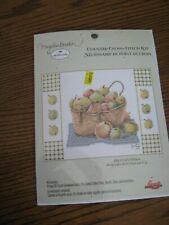 "New listing Marjolein Bastin Cross Stitch Kit ""Basket Of Apples """