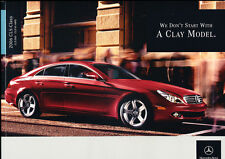 2006 Mercedes Benz CLS CLS500 CLS55 AMG 36-page Car Sales Brochure Catalog