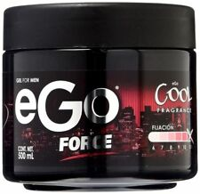 Hair Styling GEL For MEN eGo FORCE 17.6 Oz /500mL COOL Fragrance 24H STRONG Hold