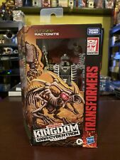 Transformers Ractonite Kingdom Deluxe Generations War for Cybertron - NEW