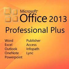 Microsoft Office 2013 Professional Plus 1 PC ✔32&64 Bit ✔NEU✔Sonderpreis SOFORT