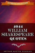 4044 William Shakespeare Quotes by Douglas, Arthur Austen -Paperback