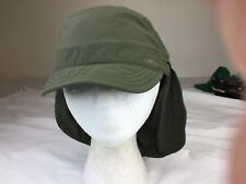 bde376dac42 REI Kids Boys Vented Sun Hat 7-14 Years Old Khaki green 100% Nylon