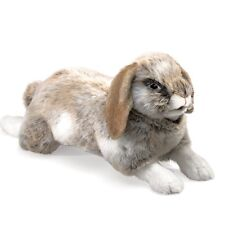 Folkmanis Holland Lop Rabbit Hand Puppet with Moveable Mouth & Paws, MPN 2892