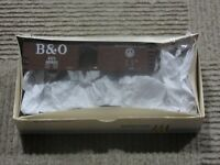Walthers HO Scale Baltimore & Ohio (B&O) 40 Foot  AAR Steel Box Car Kit